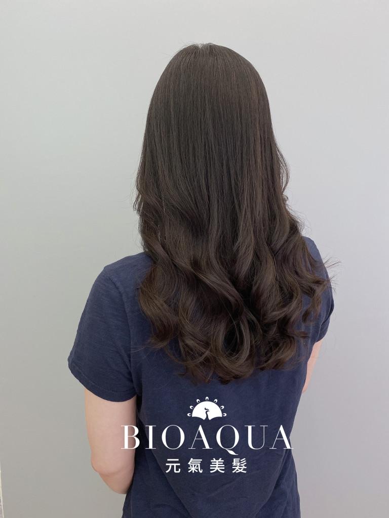 手繞電棒燙 木馬捲 - 台中髮廊 燙髮護髮推薦 元氣美髮