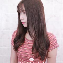 粉紫灰棕色