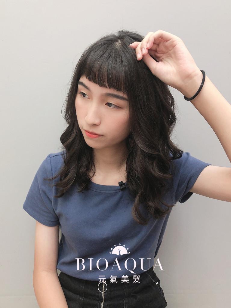 手繞燙 木馬捲 - 台中髮廊 剪髮燙髮推薦 bioaqua元氣美髮