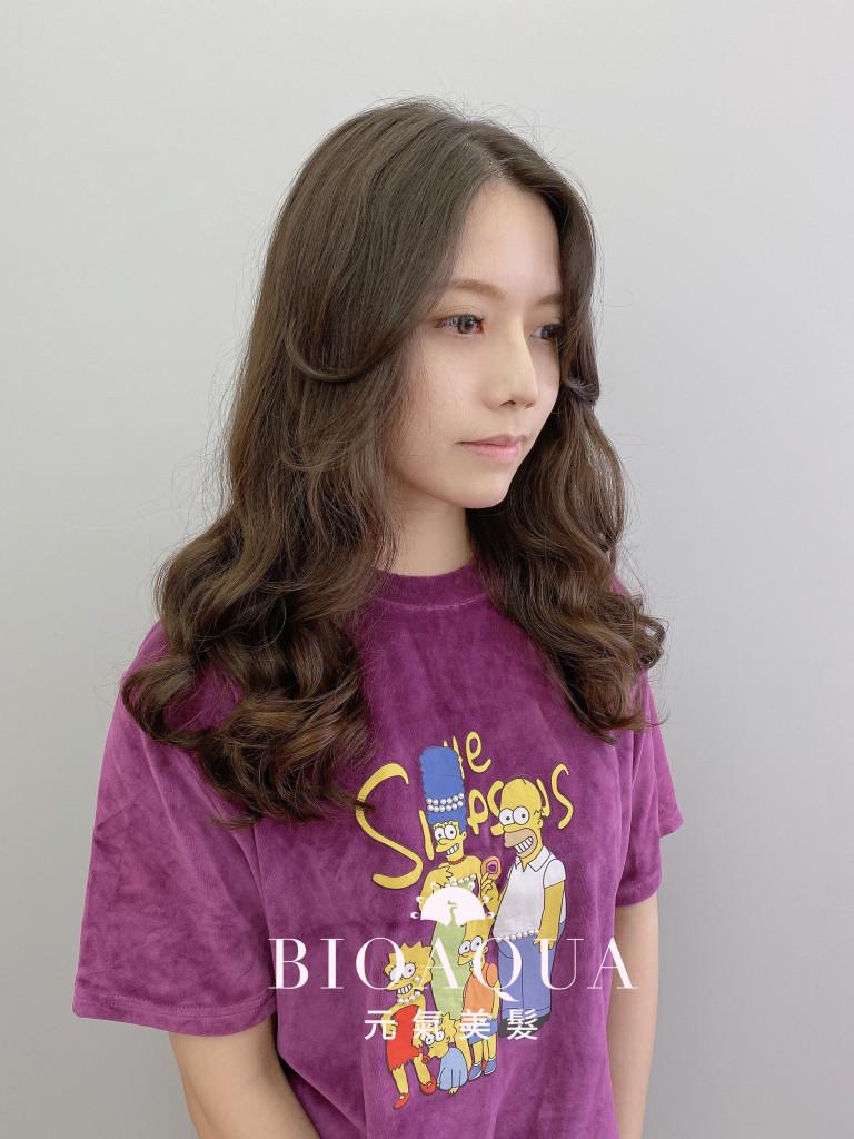 韓風電棒燙 木馬卷 - 台中髮廊 韓式燙髮推薦 元氣美髮