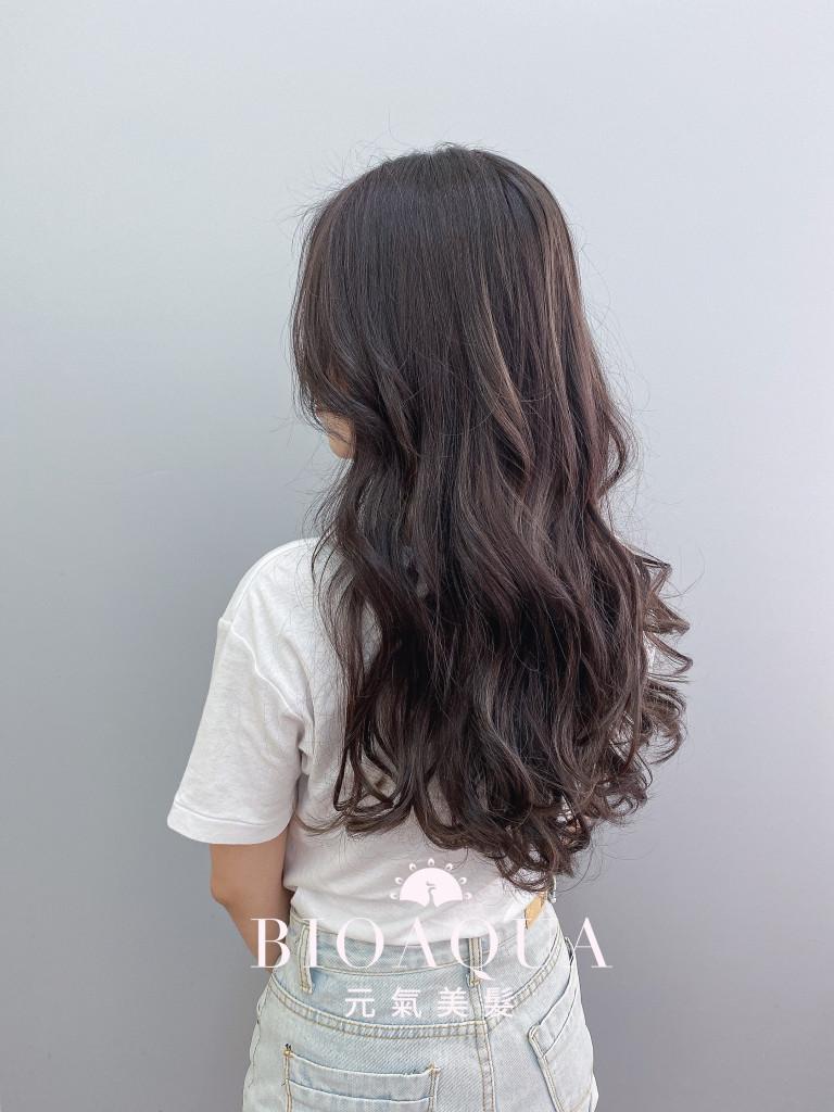 黑茶棕色 - 台中髮廊 剪髮染髮推薦 元氣美髮