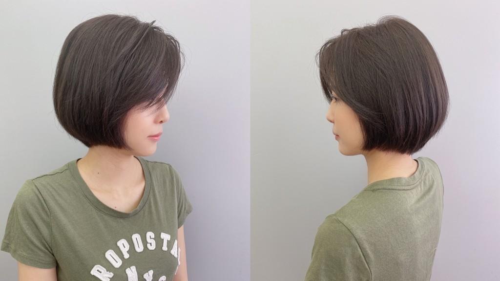 深紫灰棕色
