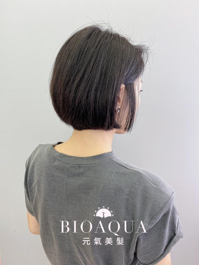 經典俐落BOB頭 - 台中髮廊 剪髮染髮推薦 元氣美髮
